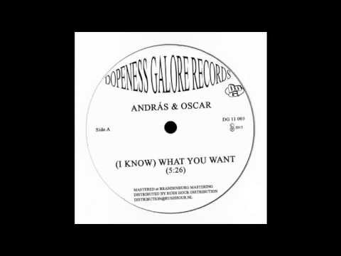 Andras & Oscar - (I Know) What You Want