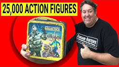 We Spent $11,200 on 25,000 Action Figures Star Wars Funko Abandoned Storage Wars Gi Joe Auction
