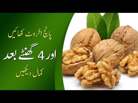Walnut Benefits Akhrot Ke Faide in Urdu Hindi Akhrot Ke Fawaid