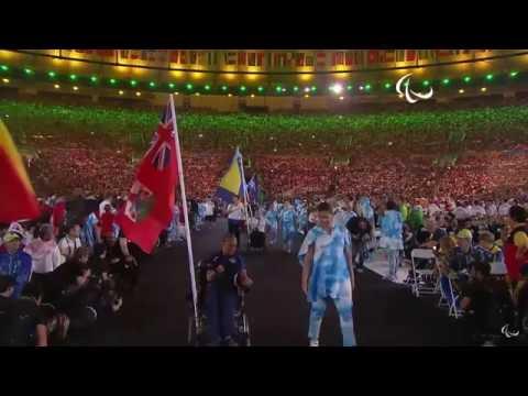 Bermuda at Paralympic Games Closing Ceremony, September 18 2016