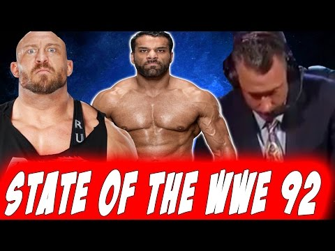Ryback suggests Jinder Mahal  is on Steroids ? STATE OF THE WWE 92