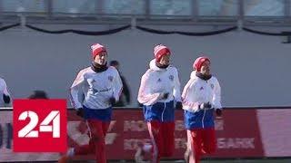 Футболисты сборной России исполнили мечту юных болельщиков - Россия 24