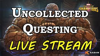 Uncollected Event Questing | Marvel Contest of Champions Live Stream