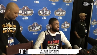 LeBron James asks Kyrie Irving if Earth is flat