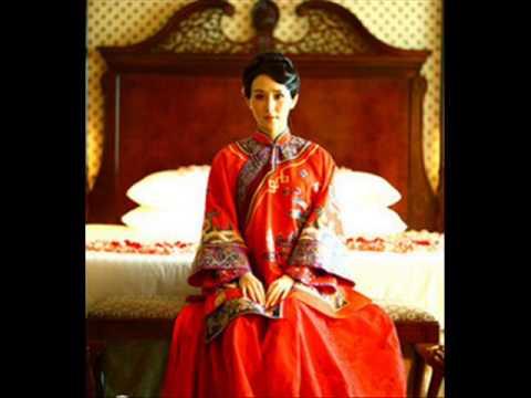 Chinese modern wedding cheongsam dress