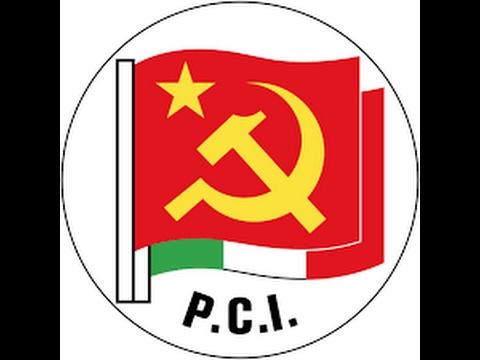 La caduta del partito comunista italiano PCI.