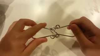 видео How to solve impossible wire puzzle