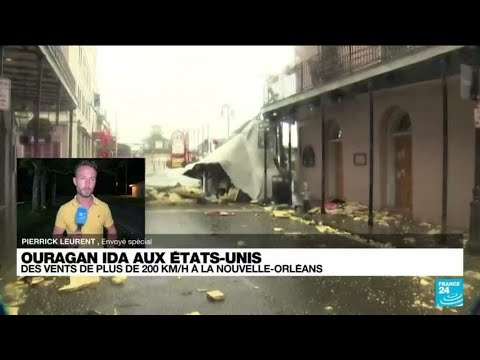 Download Ouragan Ida aux États-Unis : des vents de plus de 200 km/h à la Nouvelle-Orléans