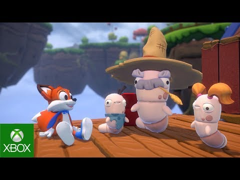 Super Lucky's Tale – E3 2017 – 4K Announce Video