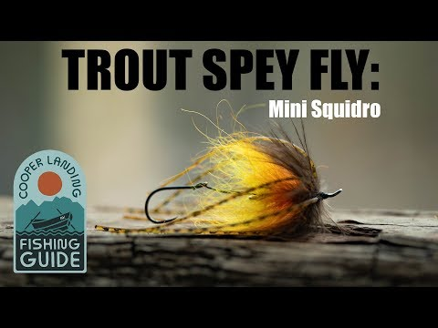 Squidro Fly  - Tying Scott Howell Inspired Trout Spey Squidro Fly Variant