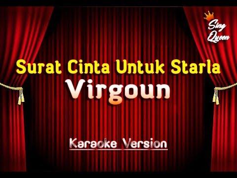 Virgoun   Surat Cinta Untuk Starla  Karaoke Version