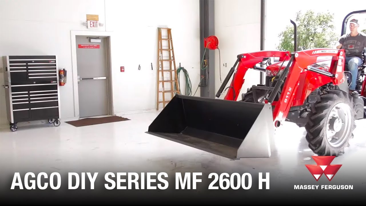 AGCO DIY Series: How to carry out a daily inspection - Massey Ferguson 2600H