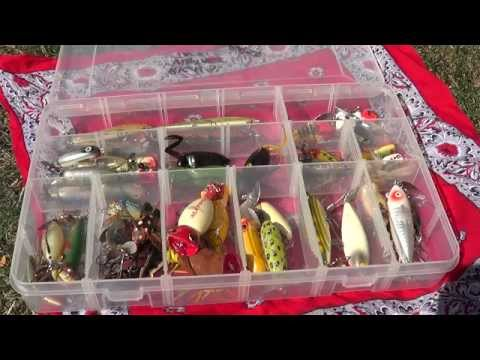 Vintage Fishing Lure Collection