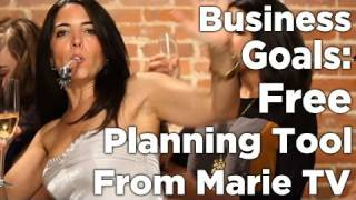 Business Goals - Free Planning Tool!