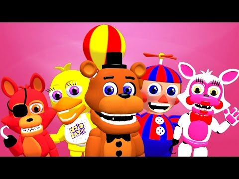[SFM FNAF] FIVE NIGHTS AT FREDDY'S WORLD SONG (COLLAB)