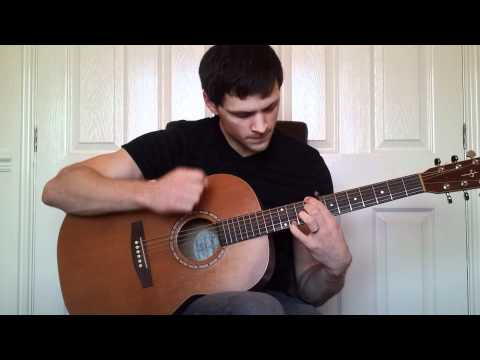 How to play Where do my Bluebird Fly by The Tallest Man On Earth (guitar lesson / tutorial )