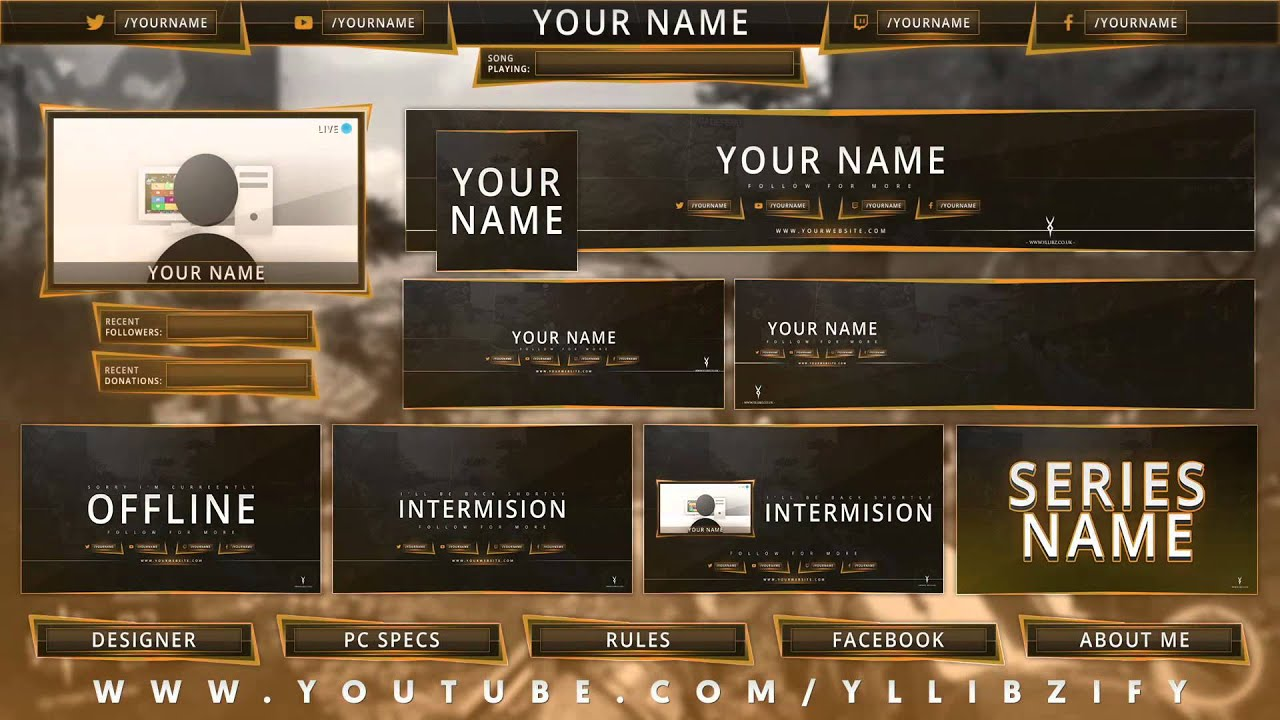 free gfx  ultimate rebrand photoshop template pack  2