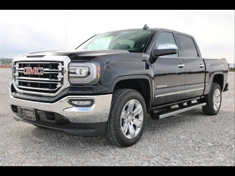 2016 gmc sierra 1500 slt z71 4x4 crew cab freshened look for Sierra motors san antonio tx