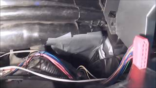 ВАЗ 2114 замена радиатора отопителя