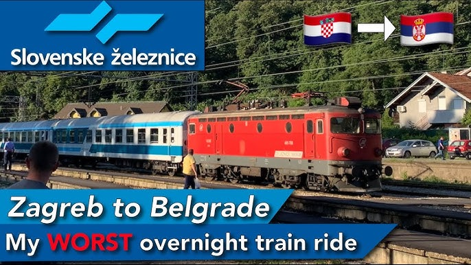 Zagreb To Belgrade Onboard Slovenian Overnight Train Youtube