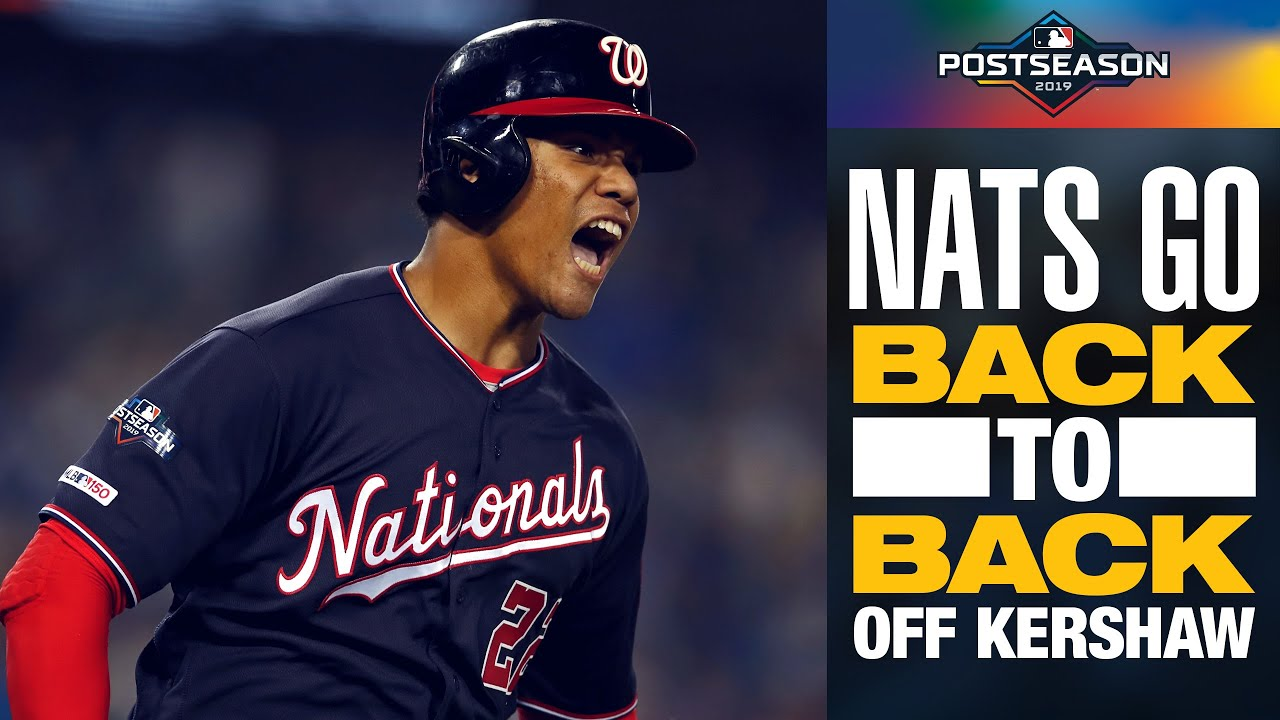Nationals Anthony Rendon, Juan Soto take Clayton Kershaw deep to tie NLDS Game 5   MLB Highlights