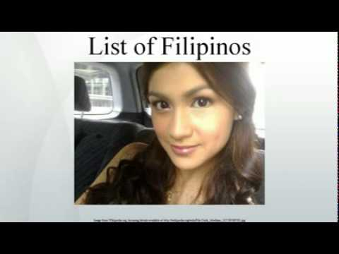 List of Filipinos