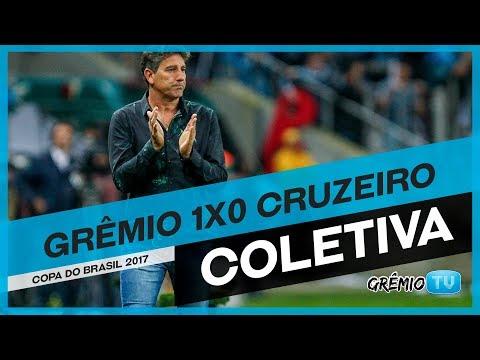 [COLETIVA] Pós-Jogo Grêmio 1x0 Cruzeiro (Copa do Brasil 2017) l GrêmioTV