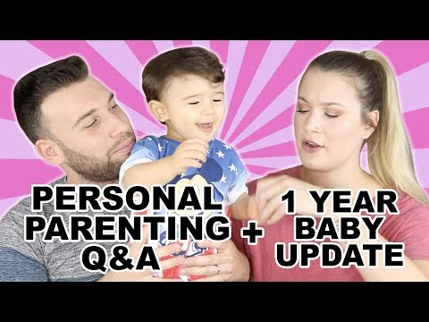 1 YEAR BABY UPDATE + PERSONAL PARENTING Q&A thumbnail