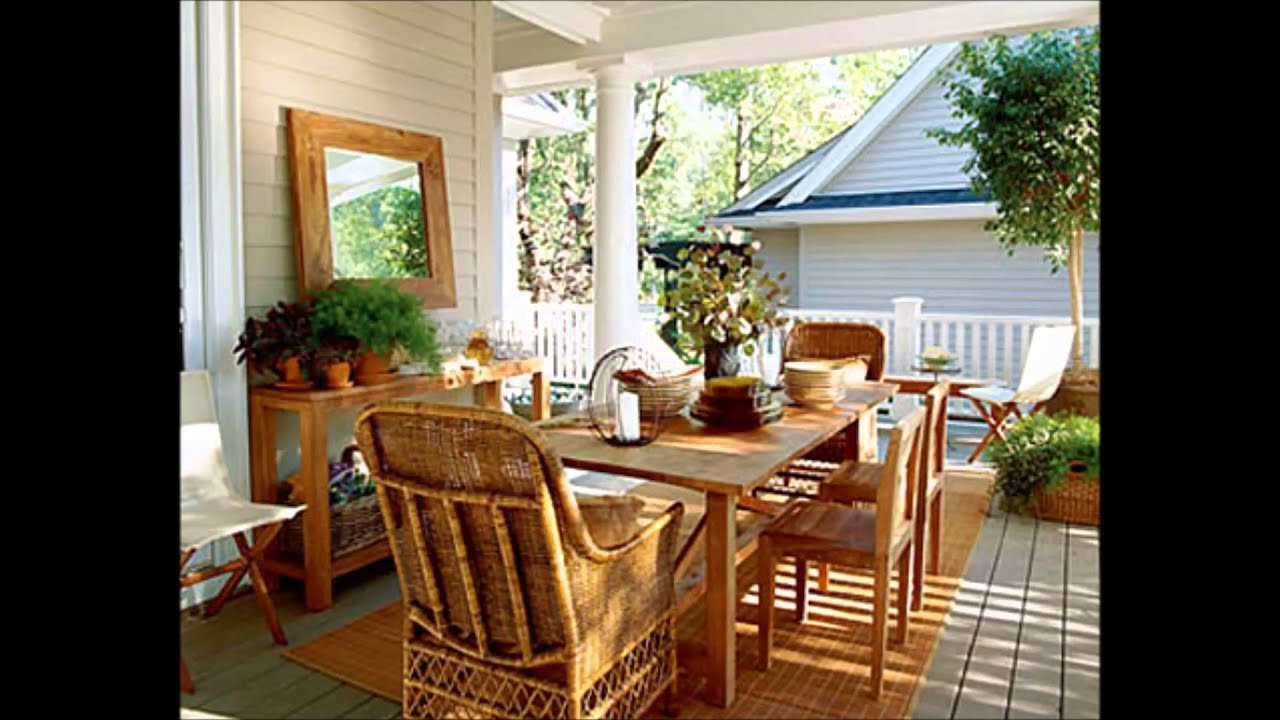 Front porch decorating for Outdoor front porch decor