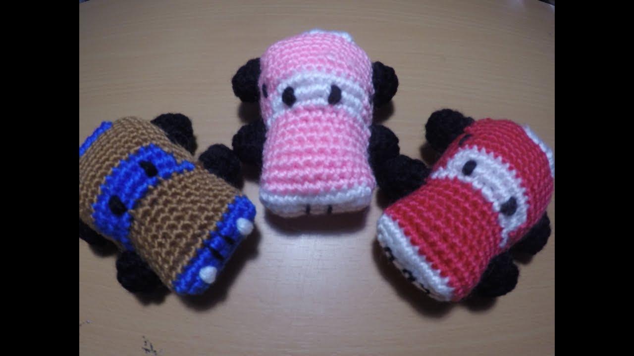 dcc3c6b793c61 كروشيه سيارة عربية امجرومى Amigurumi crochet car - YouTube