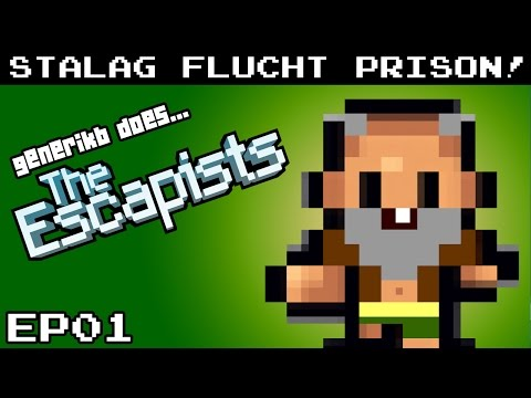 "The Escapists Gameplay S02E01 - ""BACK IN PRISON!!!"" Stalag Flucht Prison"