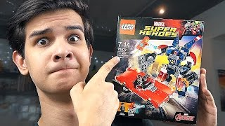 LEGO Marvel: НОВЫЙ ЖЕЛЕЗНЫЙ ЧЕЛОВЕК - Набор На Обзор (76077)