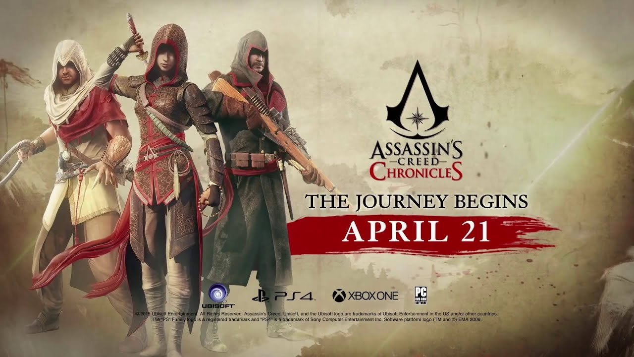 Assassin S Creed Chronicles Trailer Ps Vita Youtube