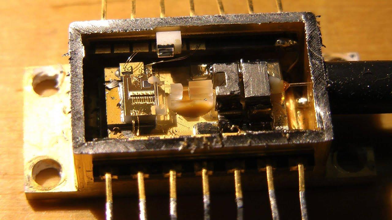 500mw Vbg Stabilized Fiber Optic Laser Module Teardown