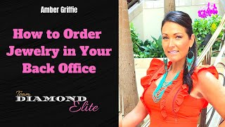 How to Order Jewelry in Your Back Office Paparazzi Accessories. Amber Griffie.
