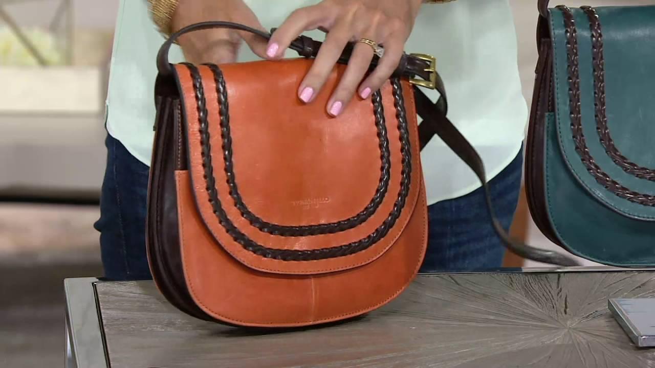 Tignanello Vintage Leather Rfid Saddle