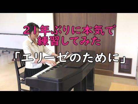 【ピアノソロ】エリーゼのために【21年ぶりに本気で練習してみた】