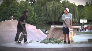 Gershon Mosley skating Judkins Park SEATTLE 2013