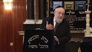 Rabbi Israel Meir Lau Talmud 24/12/14  הרב ישראל מאיר לאו ג טבת
