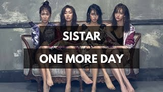 SISTAR (씨스타) & Giorgio Moroder - One More Day Lyrics
