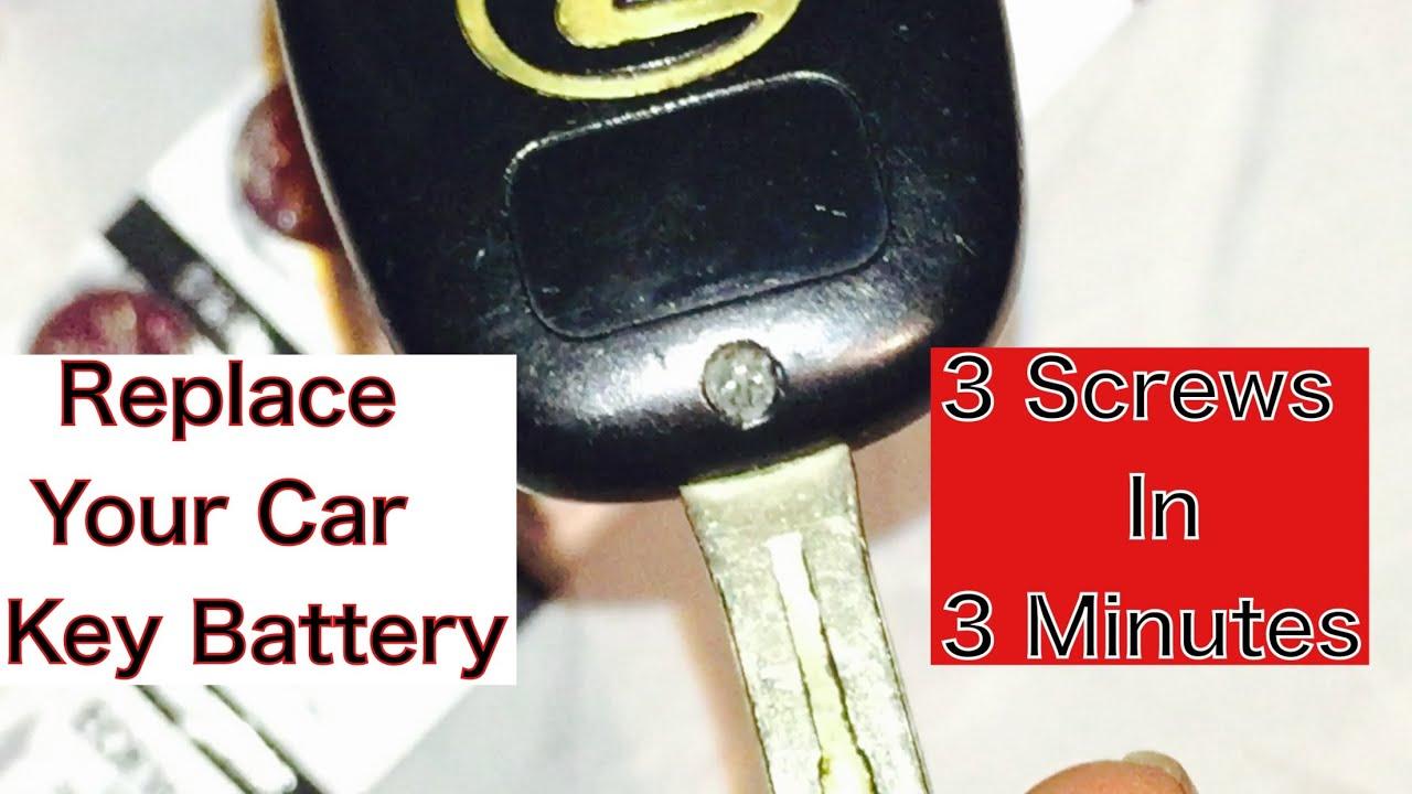 2001 lexus es300 remote key battery