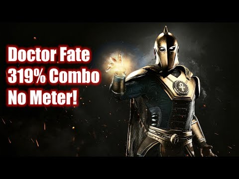 Injustice 2: Doctor Fate Character Combos