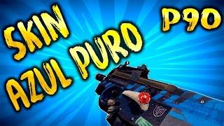 ZULA EUROPE   JUGANDO CON LA P90 SKIN AZUL PURO   GAMEPLAY EN ESPAÑOL