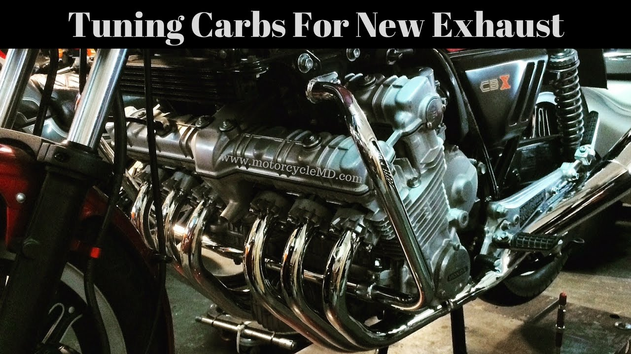How To Tune Your Carburetors For New Exhaust | MotorcycleMD