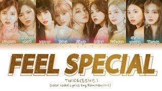 "Download lagu TWICE(트와이스) ""Feel Special"" (Color Coded Lyrics Eng/Rom/Han/가사) MP3"