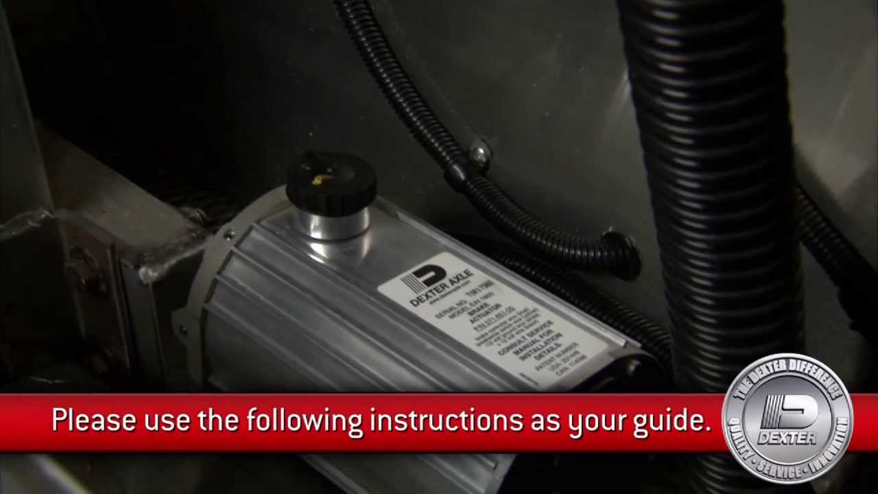 maxresdefault dexter e h actuator installation youtube dexter electric over hydraulic wiring diagram at soozxer.org