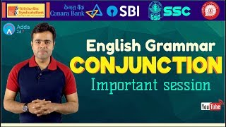 English Grammar | Conjunction By Ratnesh Sir | SSC CGL, SSC CHSL,RRB ALP, UPSC, SBI CLERK