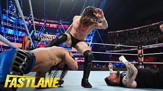 Brutality reigns in WWE Title Triple Threat Match: WWE Fastlane 2019 (WWE Network Exclusive)