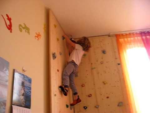 Kletterwand Für Zuhause ilvy klettert zu hause