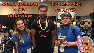 Manu Bennett (Deathstroke on Arrow) Amazing Comic Con Aloha 2019 Interview